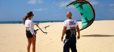 Cover for Beginner Kitesurf Course in Boa Vista