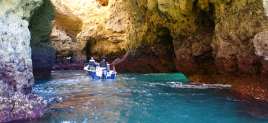 Cave boat tour Lagos