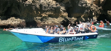 Coastal boat trip in Lagos with swimming