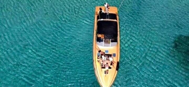 Our yacht has space for up to 10 people