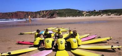 Surfing Algarve