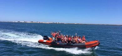 Full day island tour in Ria Formosa
