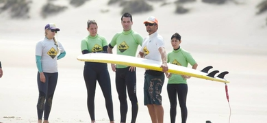 Surf Algarve - beach class
