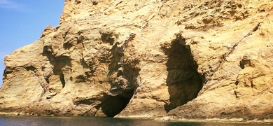 Explore the caves of dragon island