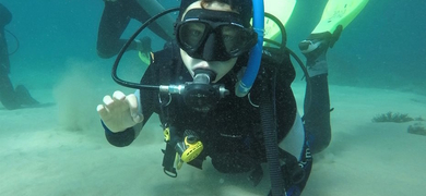 Scuba diving in Sesimbra is a great experience