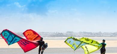 kitesurf em Lagos