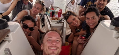 Private sailing tour from Port Olimpic in Barcelona