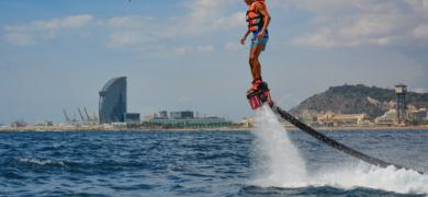 Flyboard in Barcelona