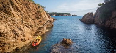 Kayak trip Barcelona