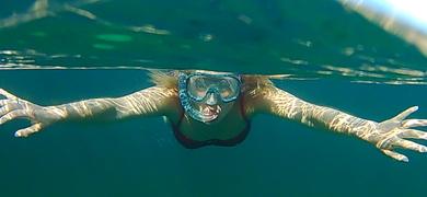 Snorkeling and sup Mallorca