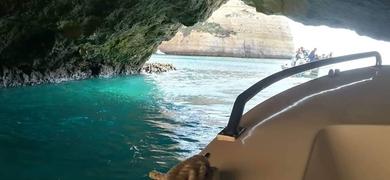 grotto tour in Portimão