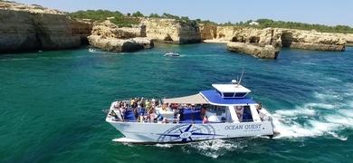 party boat in Vilamoura
