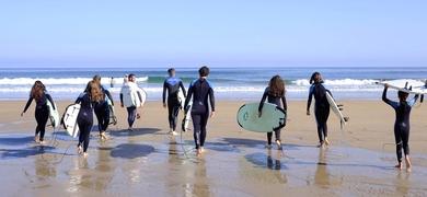 Surfing in Valencia