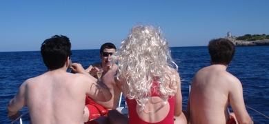 Private boat party in Mallorca