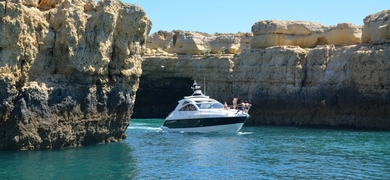 Boat rental in Vilamoura – afternoon