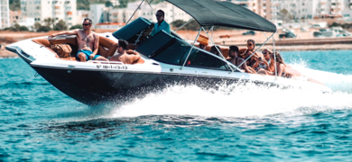 Private bachelor boat party in Ibiza