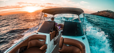 Private sunset boat tour in Ibiza and Formentera