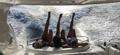 Enjoy a full day on board in the sun