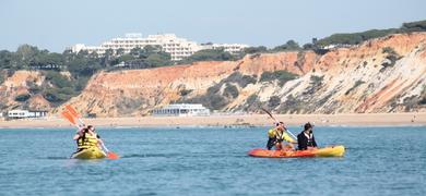 Kayak trip in Vilamoura