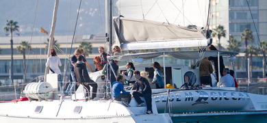 Private boat tour in Barcelona