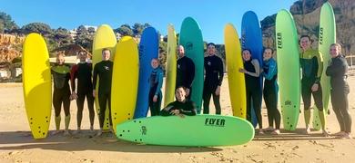 Surf lesson in Albufeira
