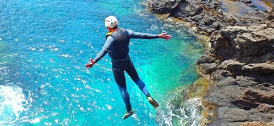 Coasteering in Madeira