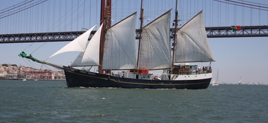 Sailing Yacht in Lisbon