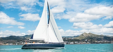 Cover for Private luxury sailing yacht in Málaga
