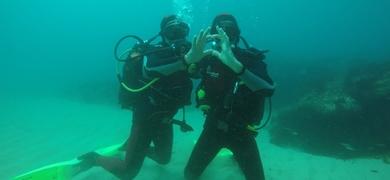 Scuba Diving in Sesimbra