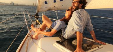 Barcelona private sailing