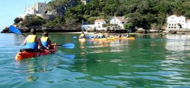 Coastal canoeing in Sesimbra