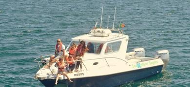 boat tour Sagres