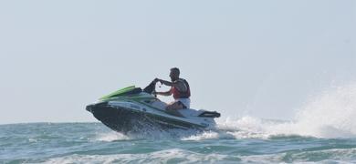 Jet Ski in Nazaré