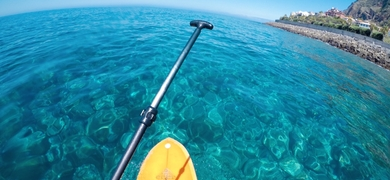 Explore the crystal-clear waters