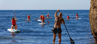 Benagil cave Stand-Up Paddle Tour