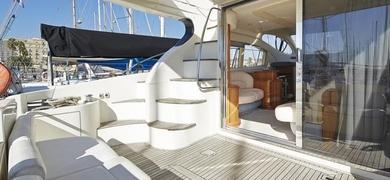 Barcelona luxury yacht