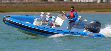 Speed boat tour in Ria Formosa