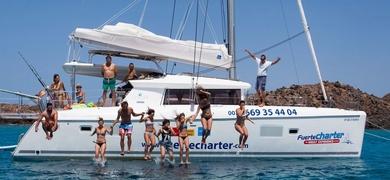Fuerteventura catamaran rental