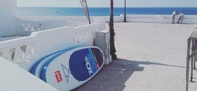 Aula particular de surf no Algarve