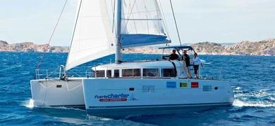 Sailing in Fuerteventura