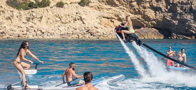 Water sport activities Ibiza