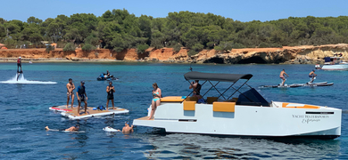 Cover for the best water sport activities in Ibiza