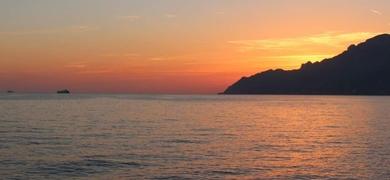 Dinner onboard Amalfi Coast Cover