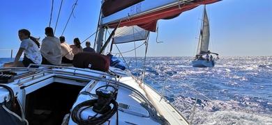Cover for sailing trip in Fuerteventura