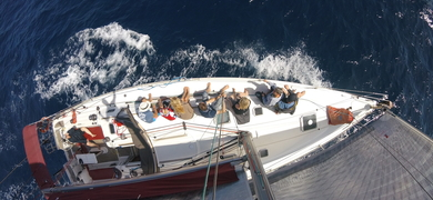Canary islands sailing