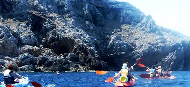Kayak trip in Menorca