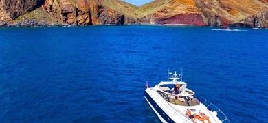 Yacht on Madeira