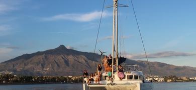 Marbella catamaran