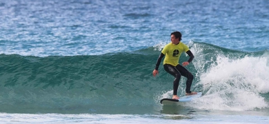 Cover for surfing in Fuerteventura