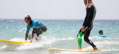 Cover for private surf lesson in Fuerteventura